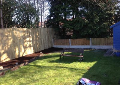 Wood Fencing Liverpool